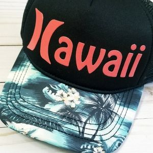 Hurley Trucker Mesh Hat Hawaii